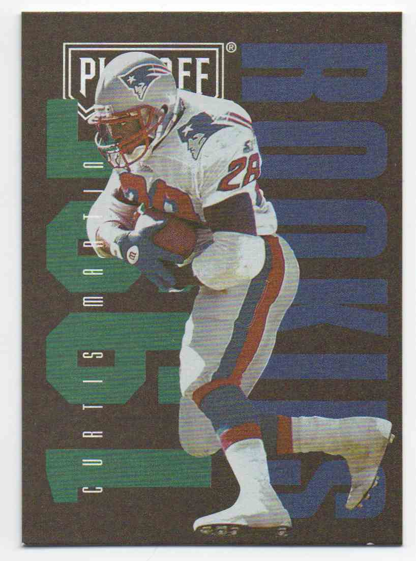 1995 Playoff Contenders Curtis Martin #139 card front image