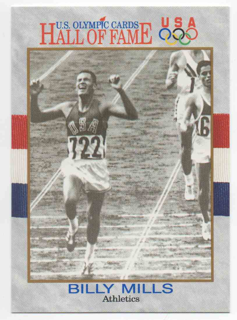1991 Impel U.S. Olympic Hall Of Fame Billy Mills #24 card front image
