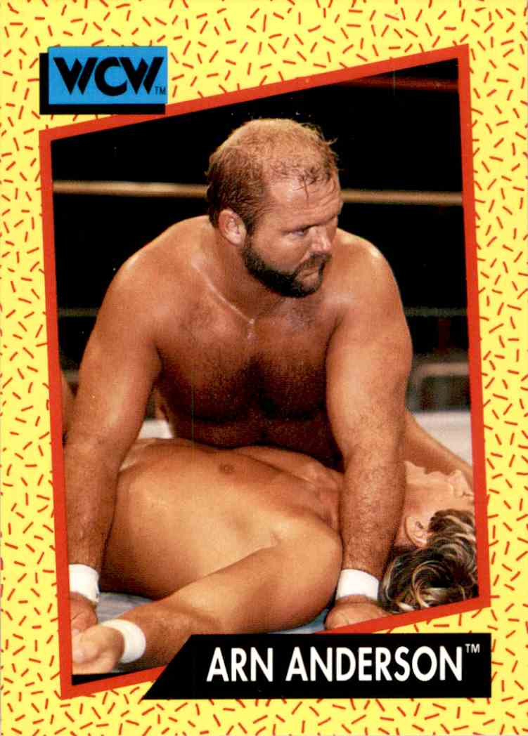 1991 Wcw Arn Anderson #52 card front image