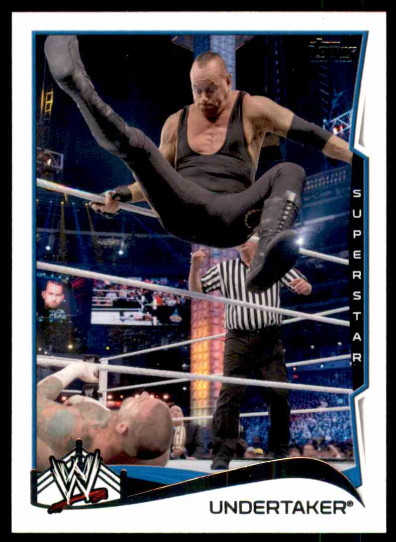 2014 Topps Wwe Undertaker #92 card front image