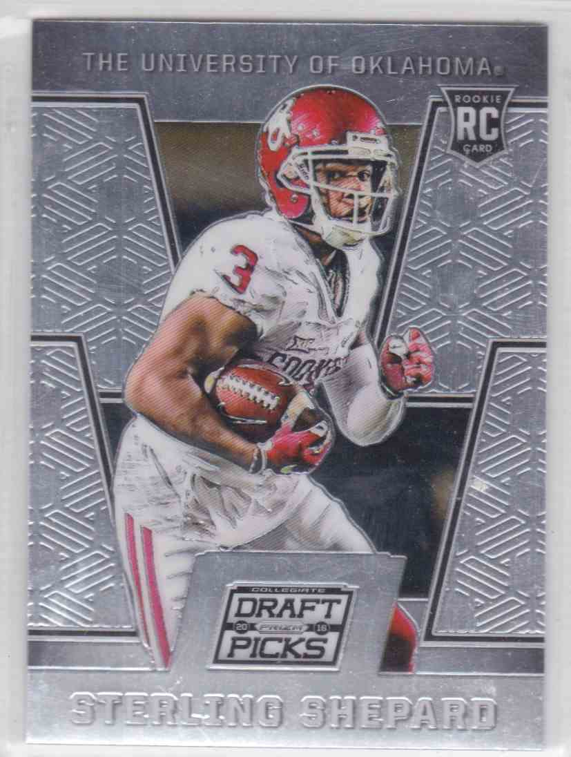 2016 Panini Prizm Draft Picks Sterling Shepard 145 On