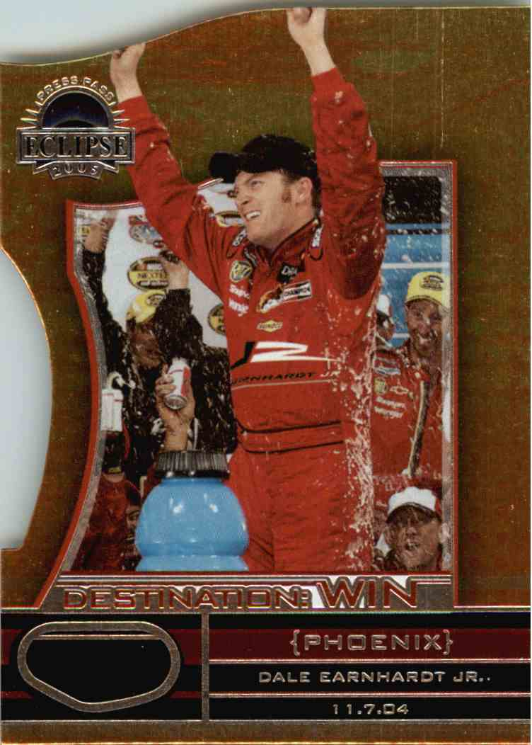 2005 Press Pass Eclipse Dale Earnhardt JR. #DW26 card front image