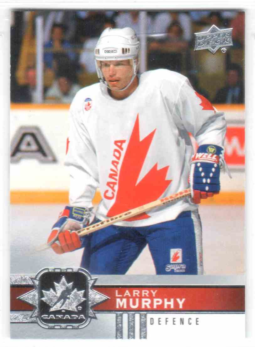 2017-18 Upper Deck Team Canada Canadian Tire Larry Murphy #77 card front image