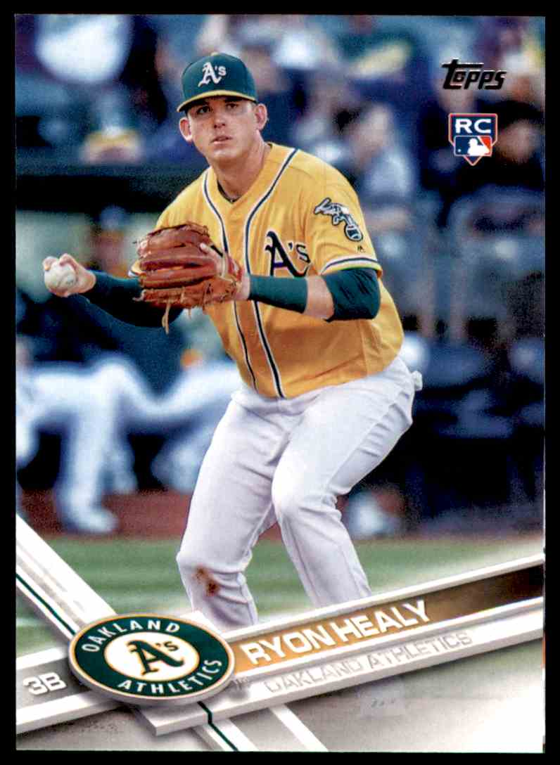 2017 Topps Ryon Healy RC #53 card front image