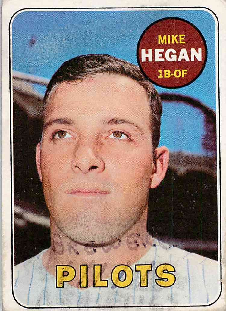 1969 Topps Mike Hegan #577 card front image