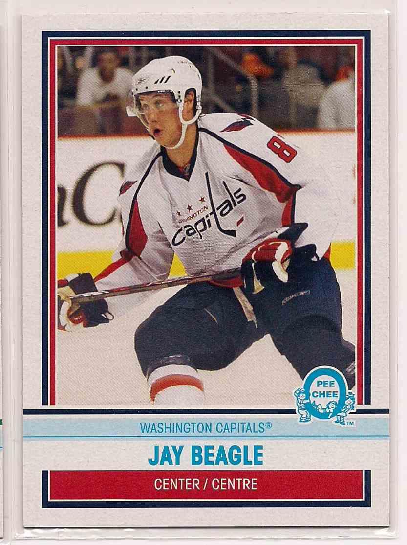 2009-10 0-Pee-Chee Retro Jay Beagle #532 card front image