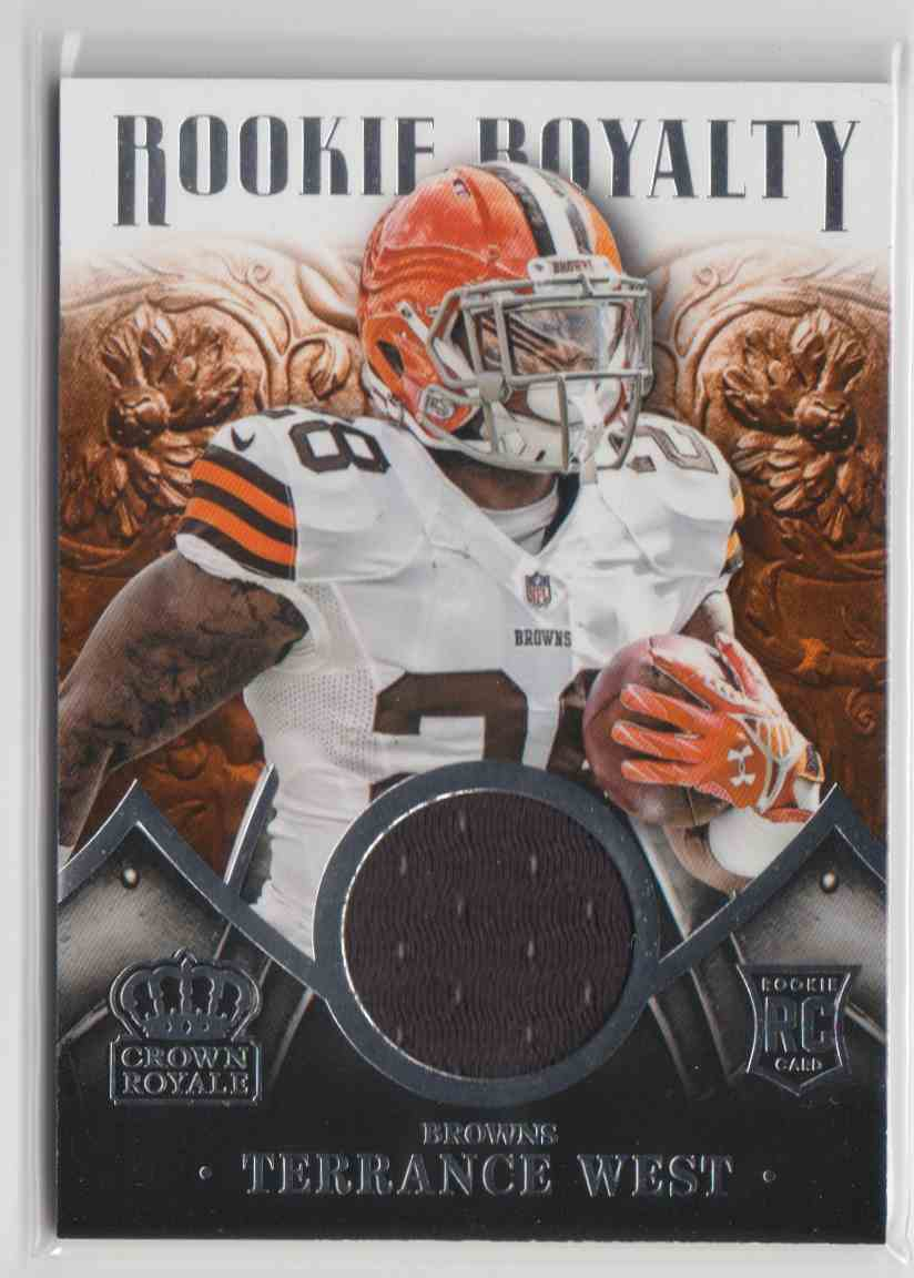 2014 Panini Crown Royale Rookie Royalty Terrance West #RR30 card front image
