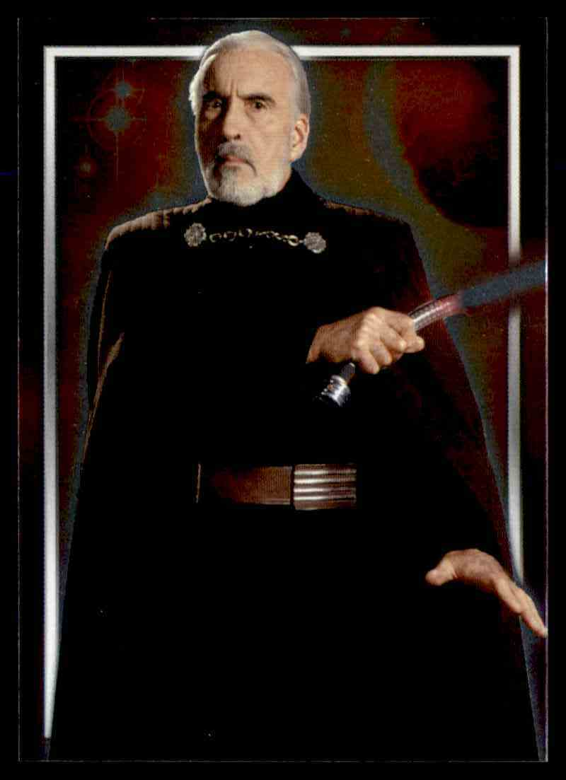 2002 Topps Star Wars Attack Of The Clones Count Dooku #C4 card front image