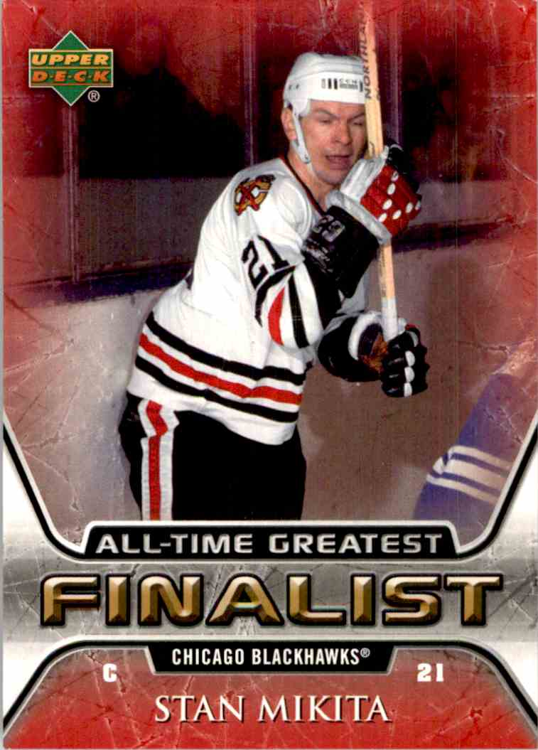 2005-06 Upper Deck All Time Greatest Stan Mikita #14 card front image