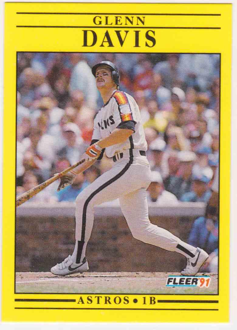 1991 Fleer Glenn Davis 505 On Kronozio