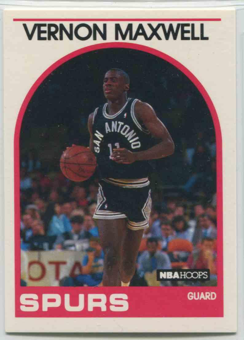 1989 90 NBA Hoops Vernon Maxwell 271 on Kronozio