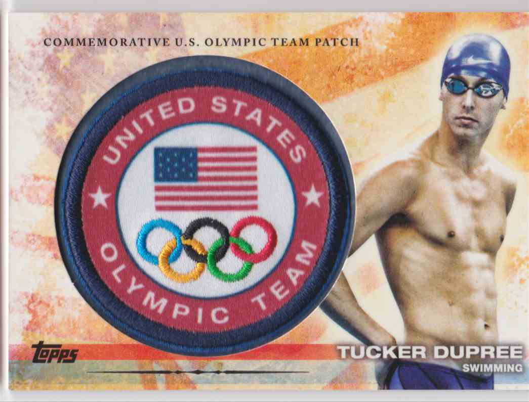 2012 Topps Commemorative U.S. Olympic Team Patch Tucker Dupree #ULP-TDU card front image