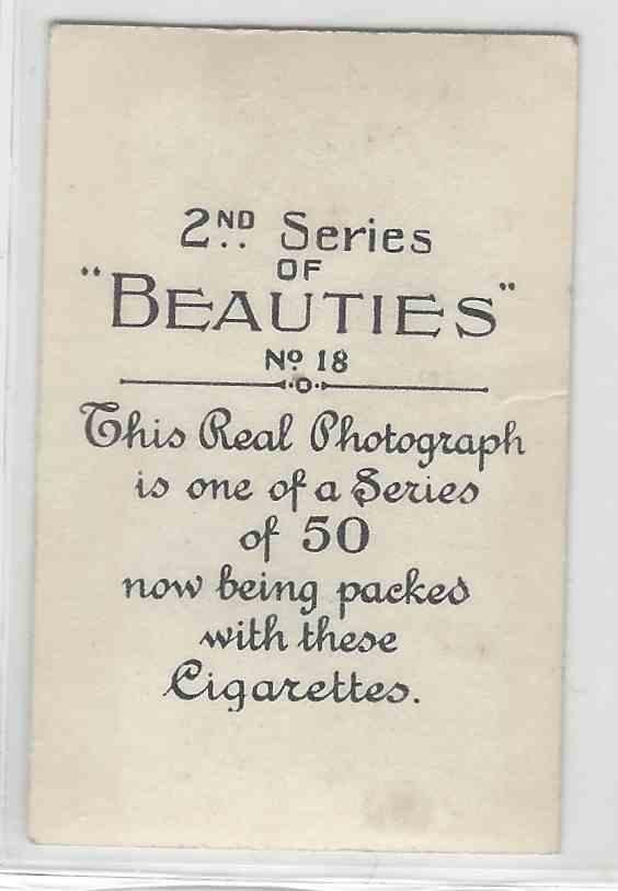 1926 Bat Beauties 2nd Series Zoe Palmer #23 card back image