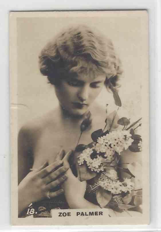 1926 Bat Beauties 2nd Series Zoe Palmer #23 card front image