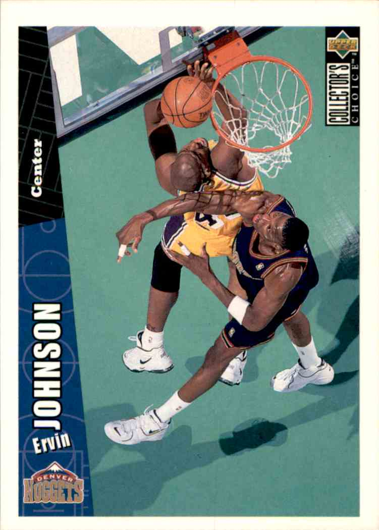 1996-97 Collector's Choice Ervin Johnson #234 card front image