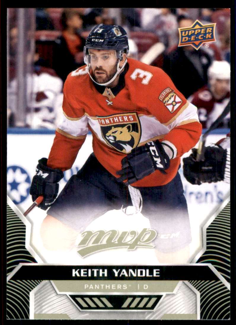 2020-21 Upper Deck MVP Keith Yandle #165 card front image