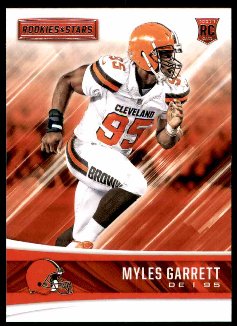 2017 Rookies And Stars Myles Garrett #202 card front image
