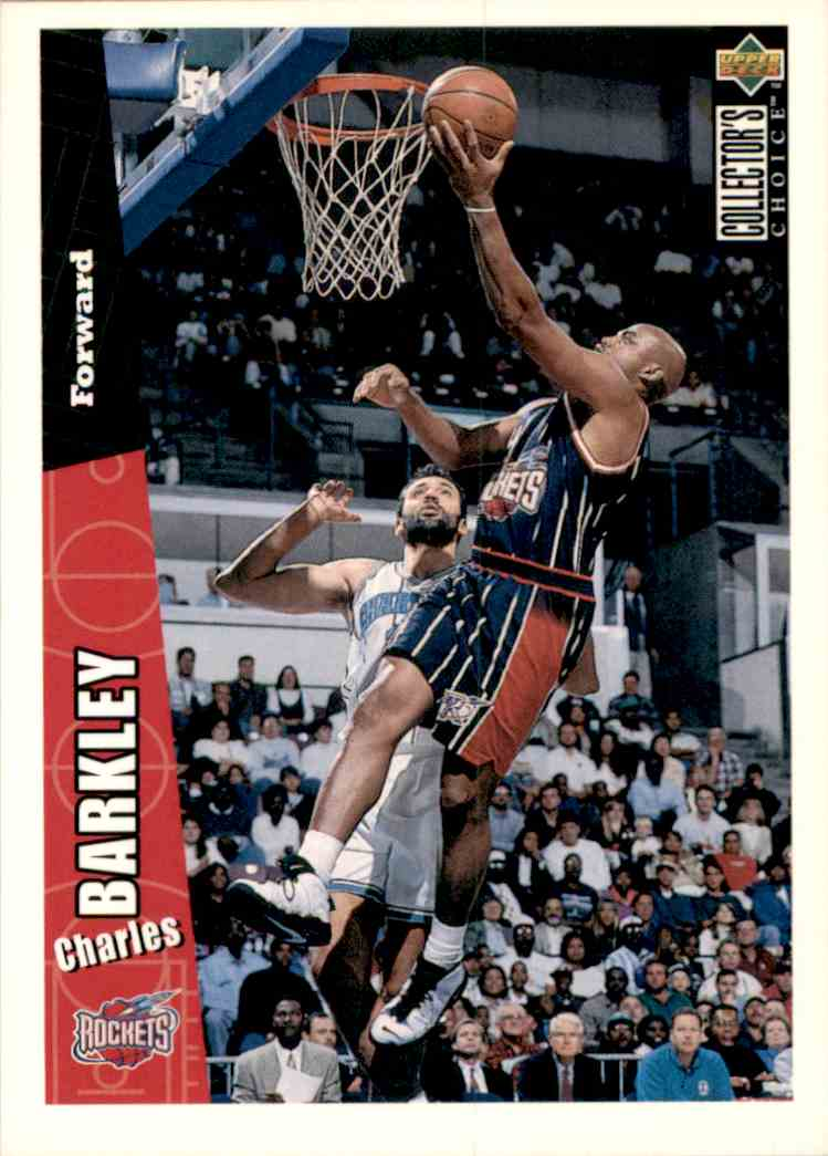 1996-97 Collector's Choice Charles Barkley #248 card front image