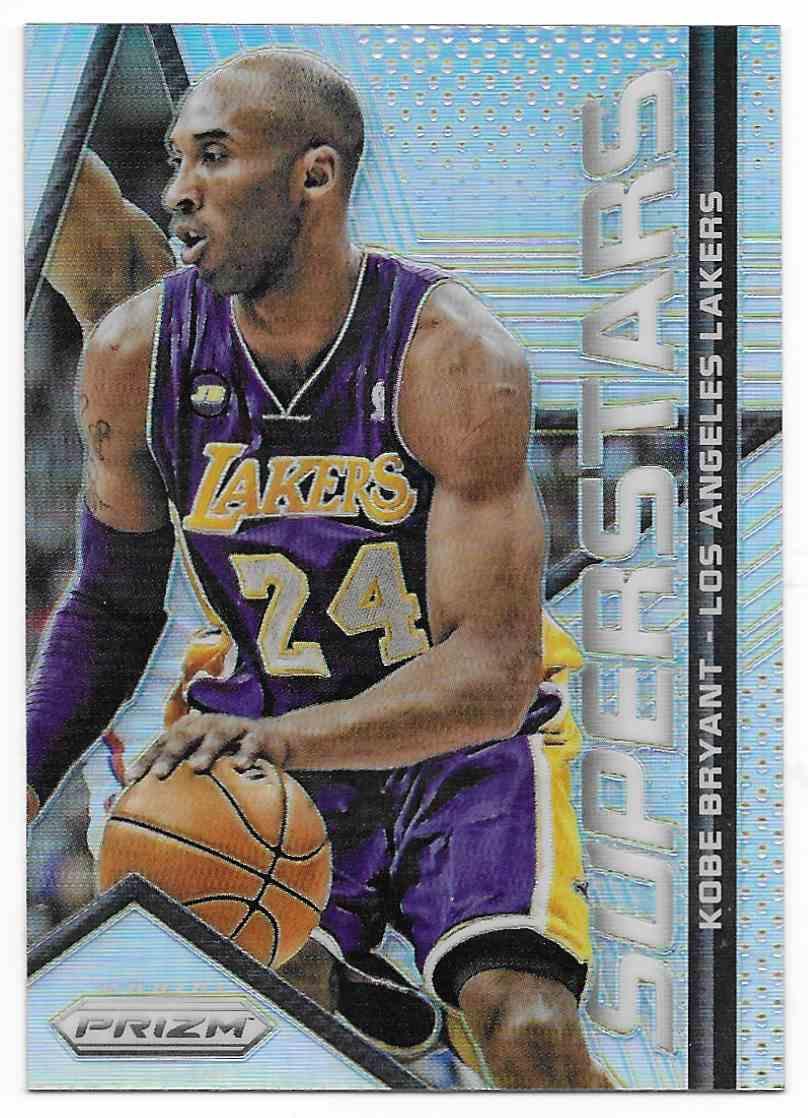 2014-15 Panini Prizm Superstars Kobe Bryant #2 card front image