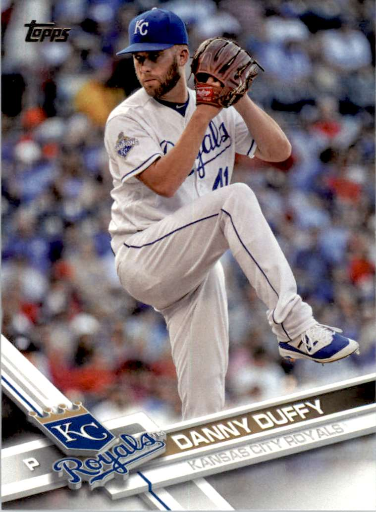 2017 Topps Series 2 Danny Duffy #634 card front image