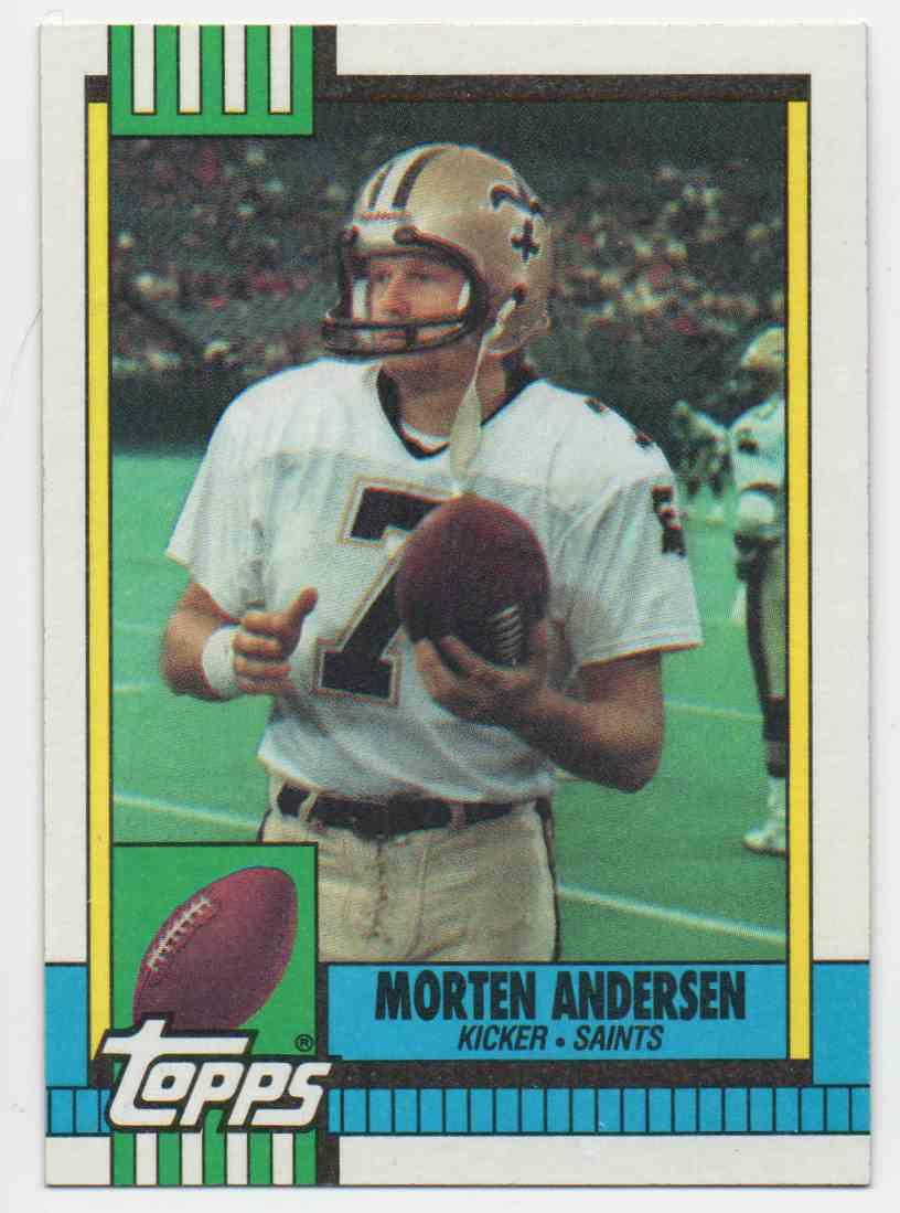 1990 Topps Morten Andersen #245 card front image