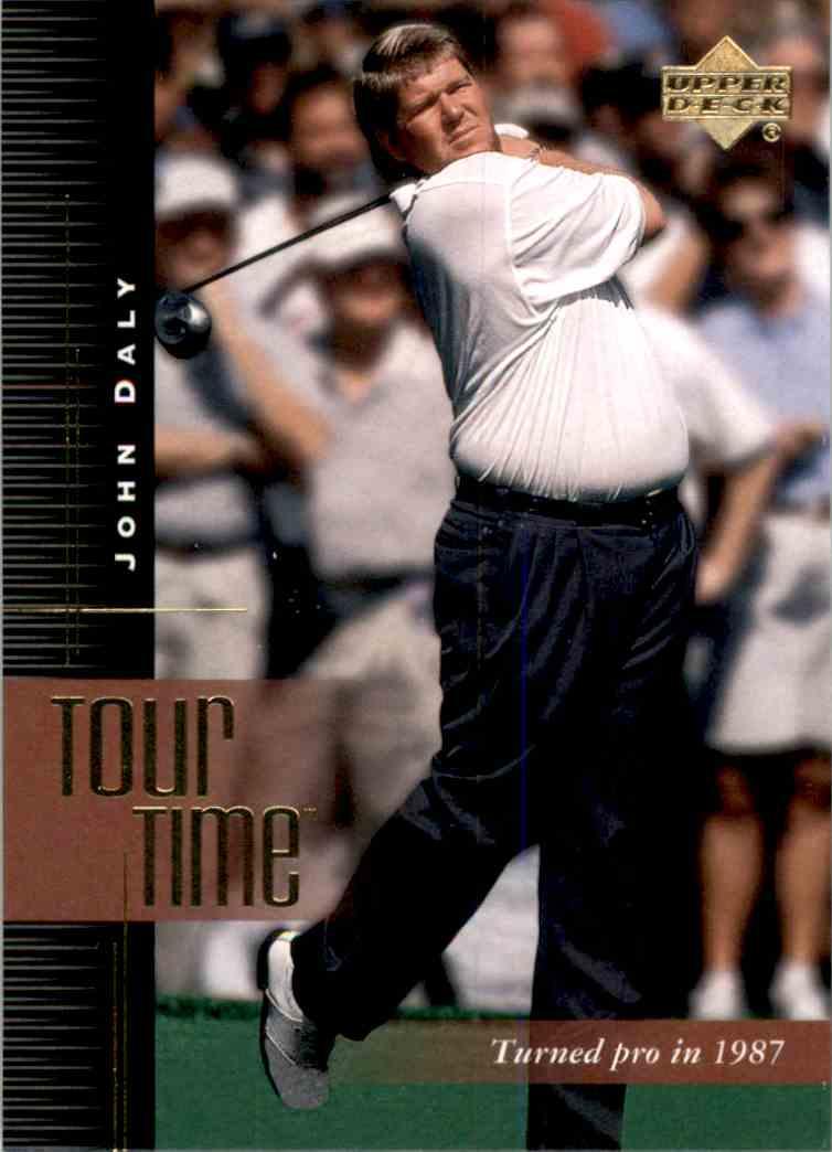 2001 Upper Deck John Daly Tt #194 card front image