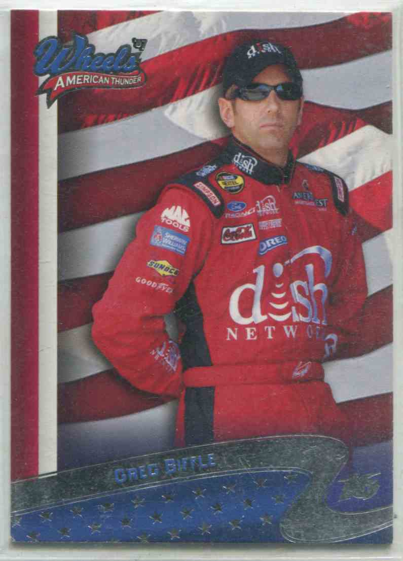 2007 Wheels American Thunder Greg Biffle #2 card front image