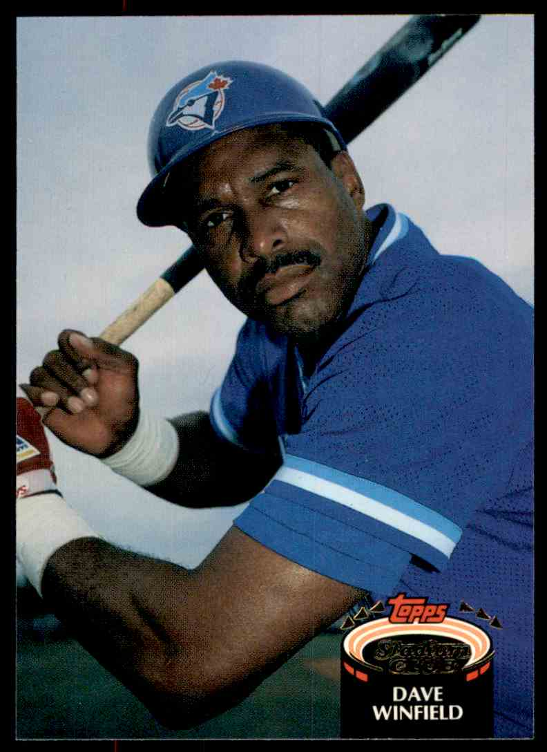 1992 Stadium Club Dave Winfield #745 card front image