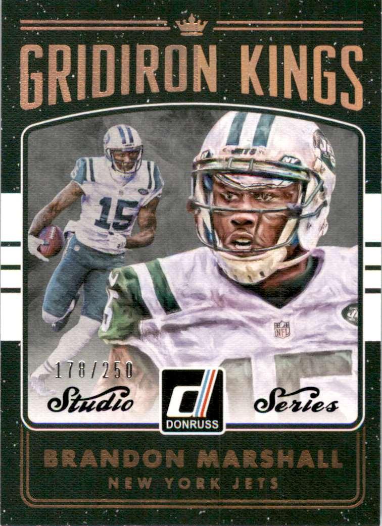 2016 Donruss Gridiron Kings Studio Series Brandon Marshall #24 card front image