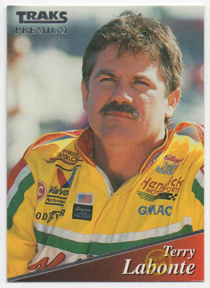 1994 Traks First Run Terry Labonte #118 card front image