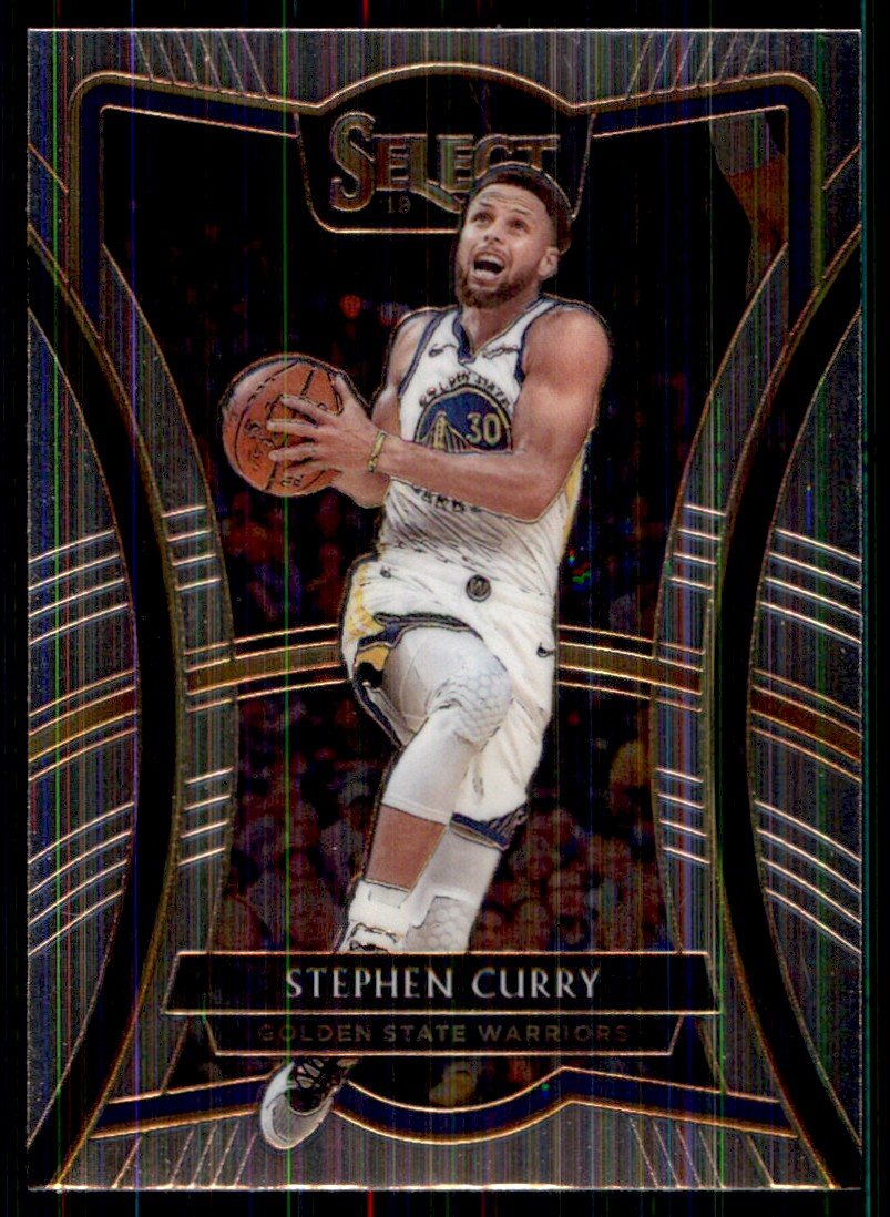 2019-20 Panini Select Stephen Curry #119 card front image