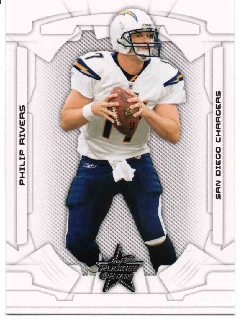 2008 Leaf Rookies & Stars Philip Rivers #78 card front image