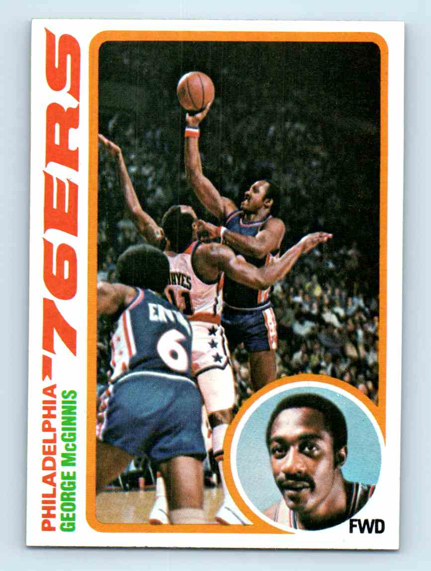 2 George McGinnis trading cards for sale