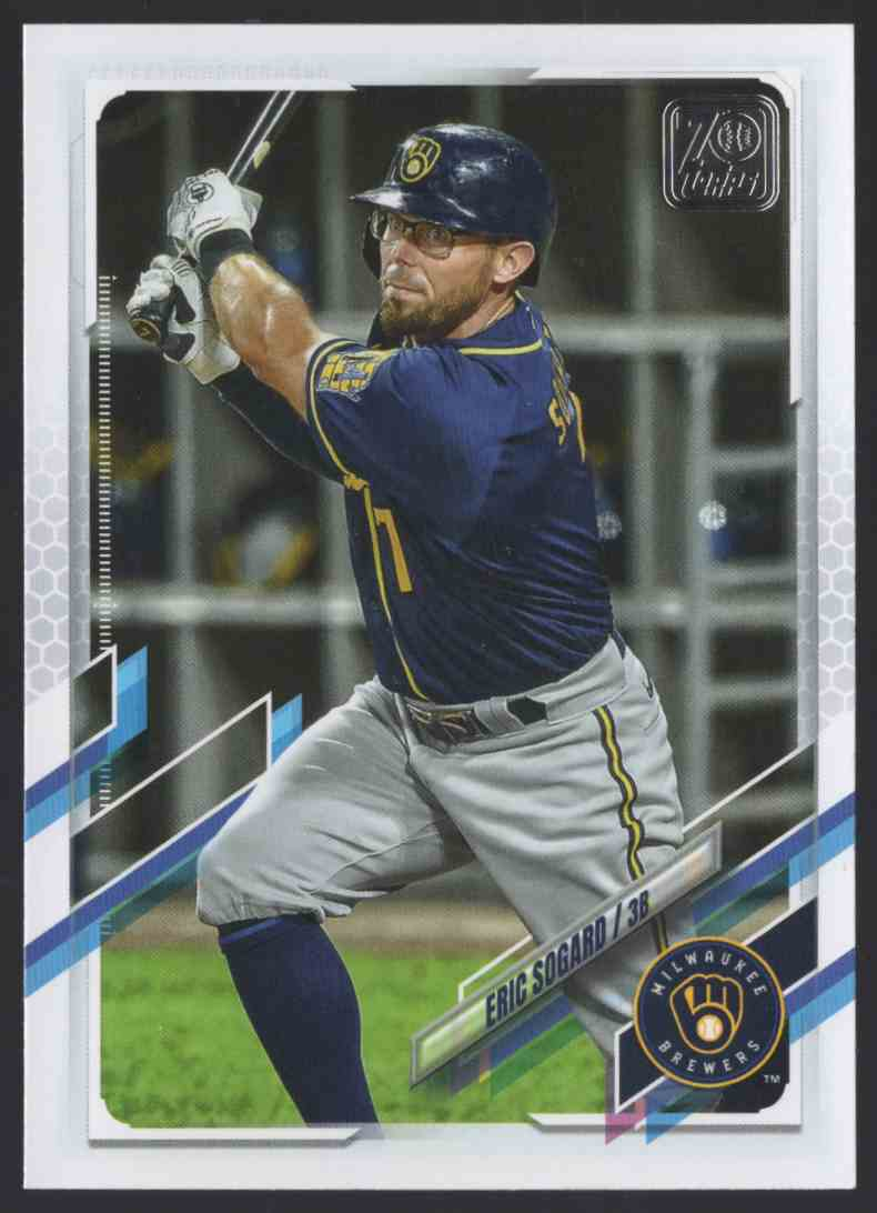 2021 Topps Eric Sogard #21 card front image