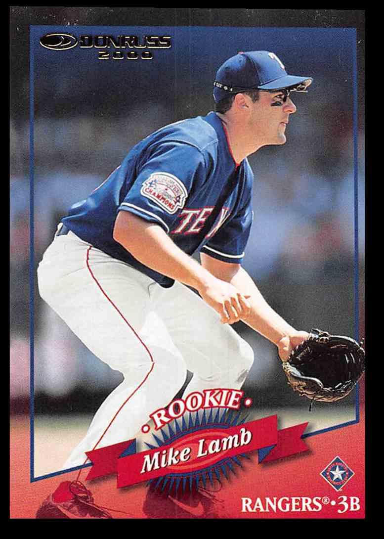 2001 Donruss 2000 Retro Mike Lamb SP #94 card front image