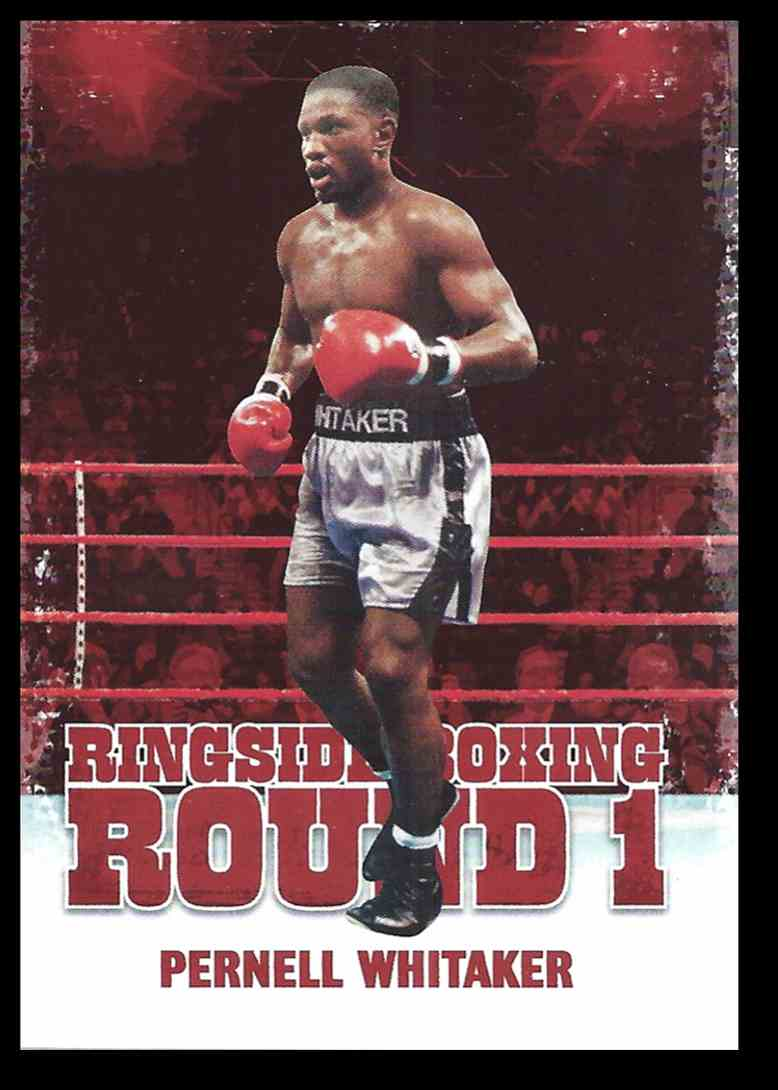 2010 Sport Kings Ringside Boxing Pernell Whitaker #39 card front image
