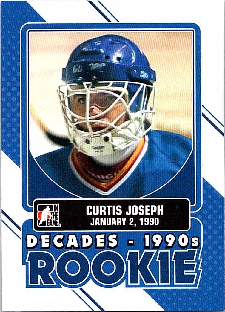 2013 14 Itg Decades 1990s Rookie Curtis Joseph Dr 01 On Kronozio