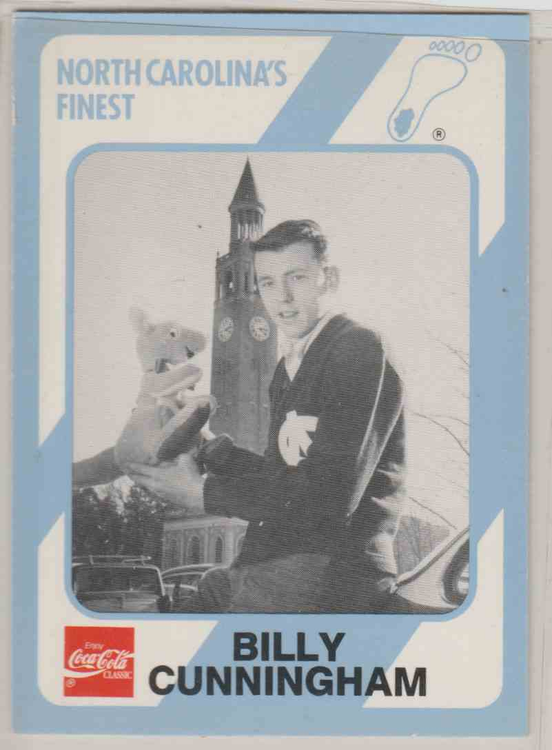 13 Billy Cunningham trading cards for sale