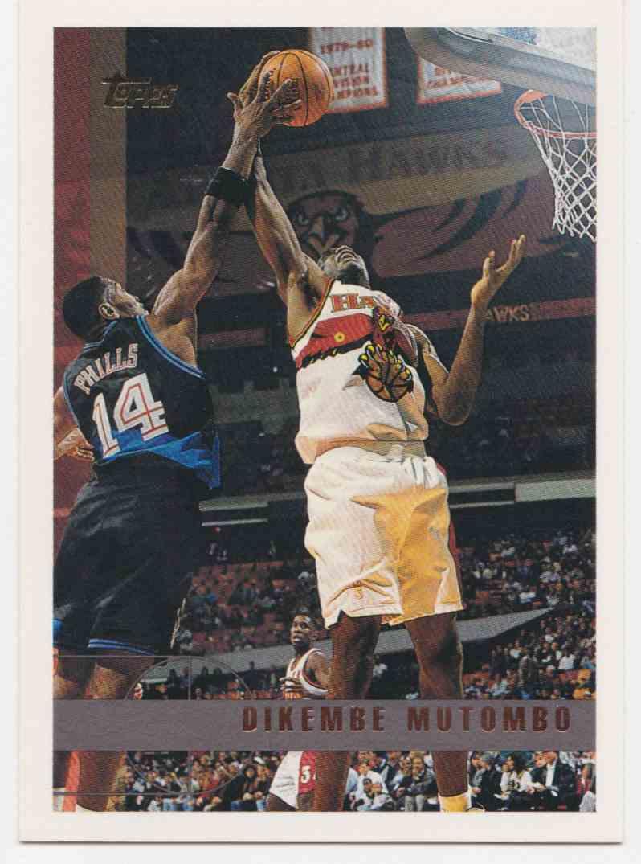 499 Dikembe Mutombo trading cards for sale 8b25b2cf9