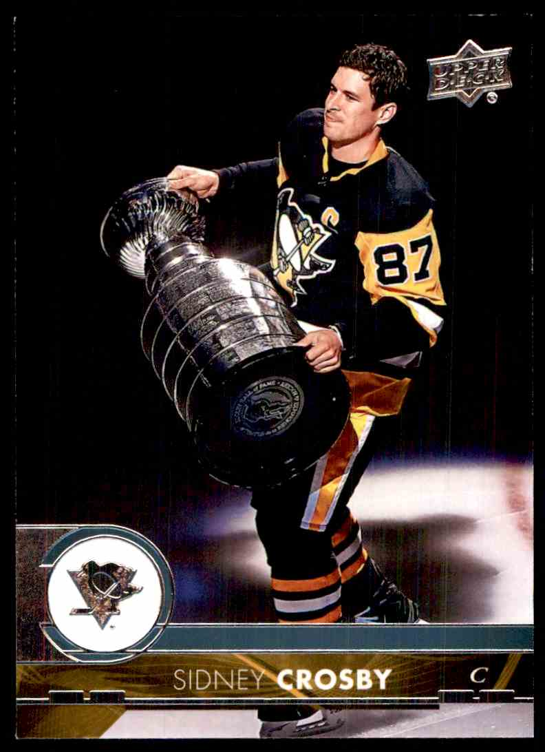 2017-18 Upper Deck Sidney Crosby #391 card front image