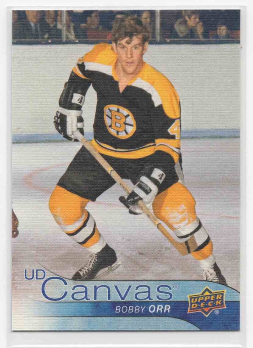 2016-17 Upper Deck Canvas Retired Stars Bobby Orr #C241 card front image