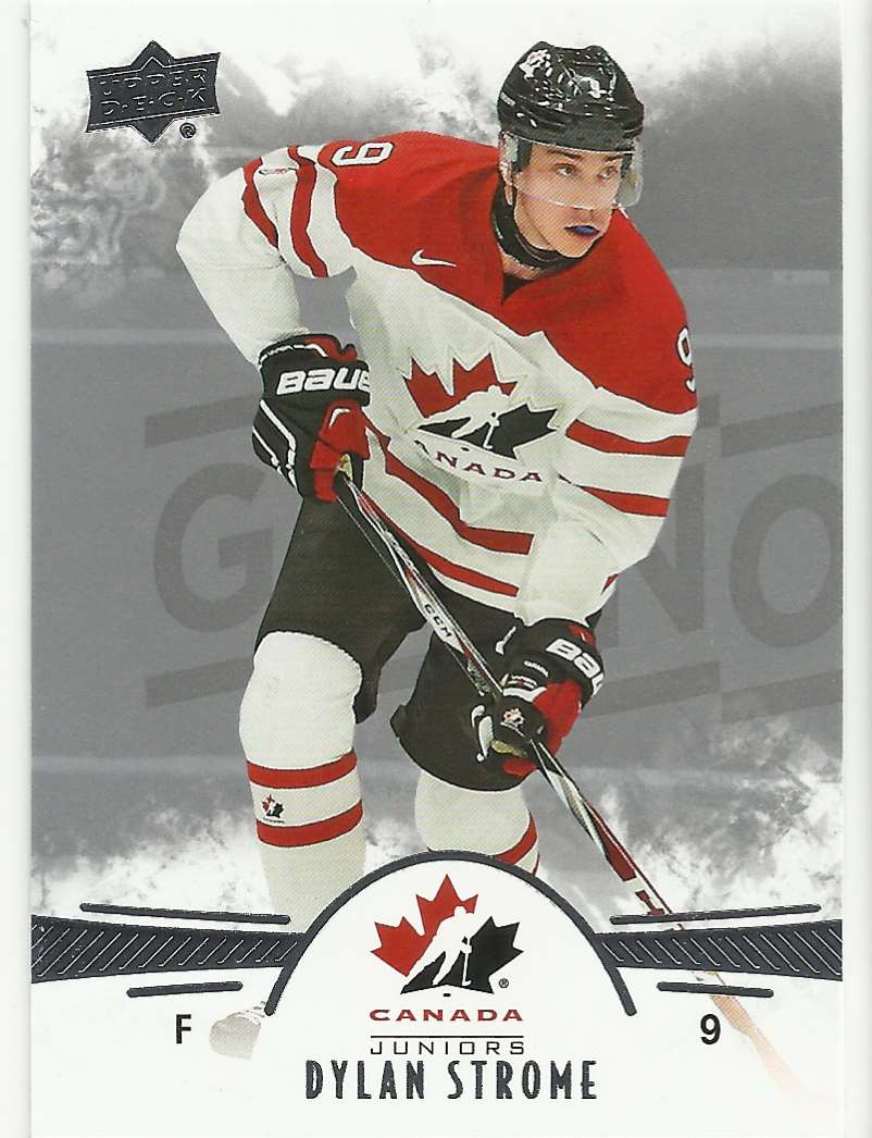 2016-17 Upper Deck Team Canada Juniors Dylan Strome #83 card front image