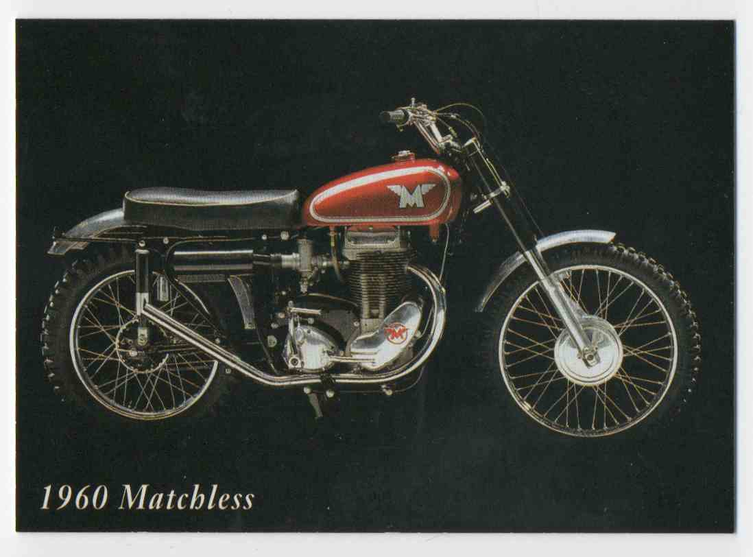 1993 InLine 1960 Matchless #39 card front image