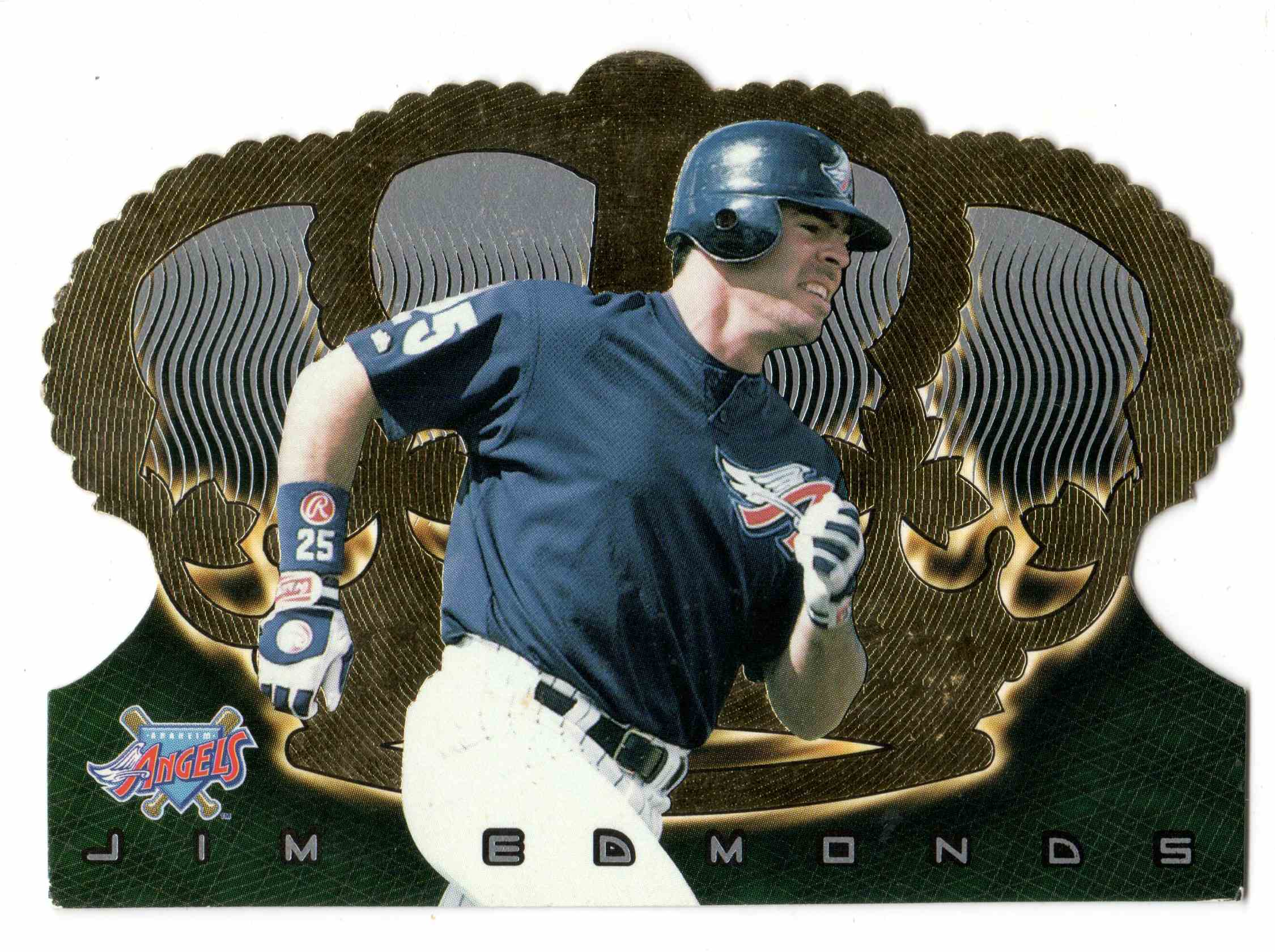1999 Pacific Crown Royale Jim Edmonds #1 card front image