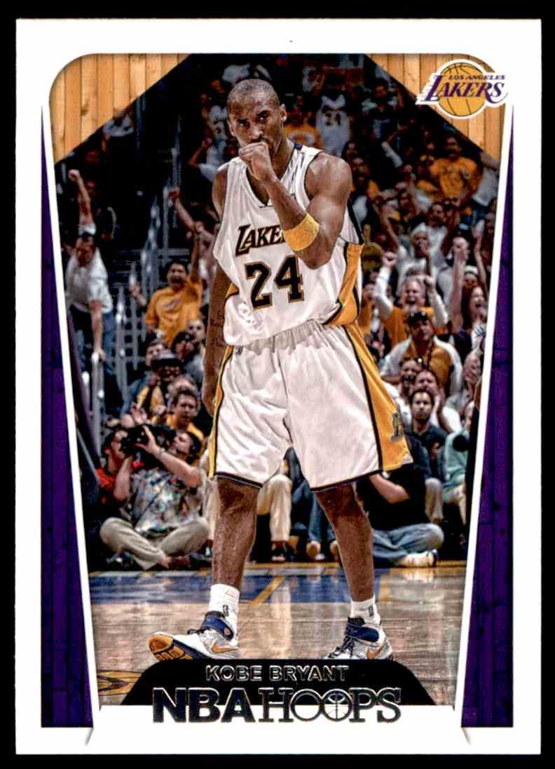 2018-19 Panini NBA Hoops Kobe Bryant #296 card back image