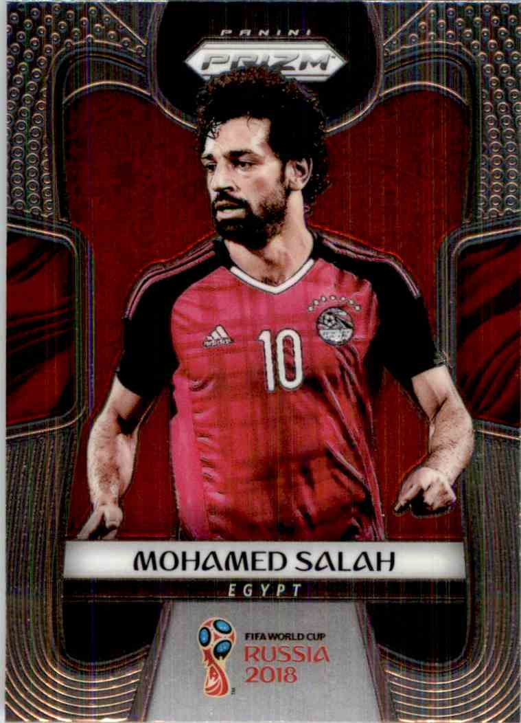 2018 Panini Prizm World Cup Mohamed Salah #54 card front image