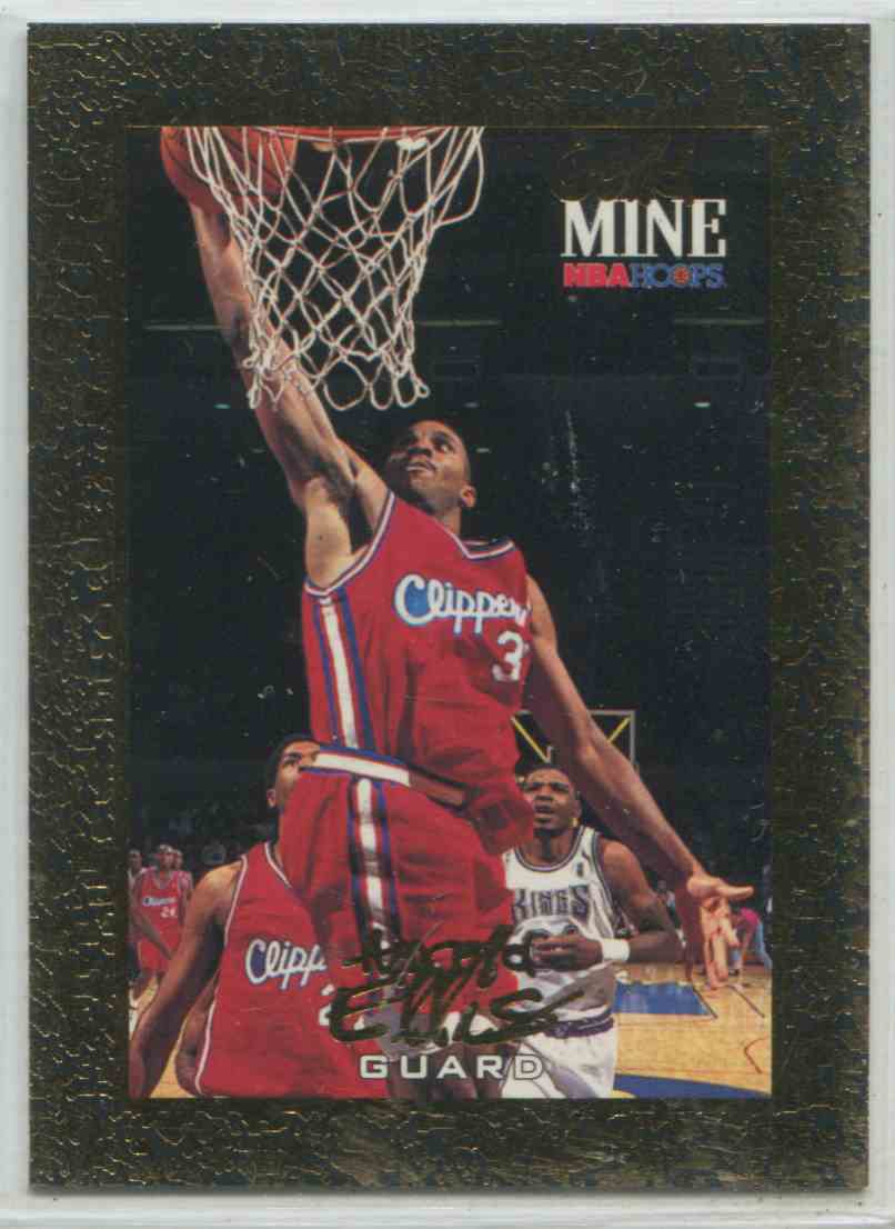 1995 96 Nba Hoops Gold Mine Harold Ellis 439 On Kronozio