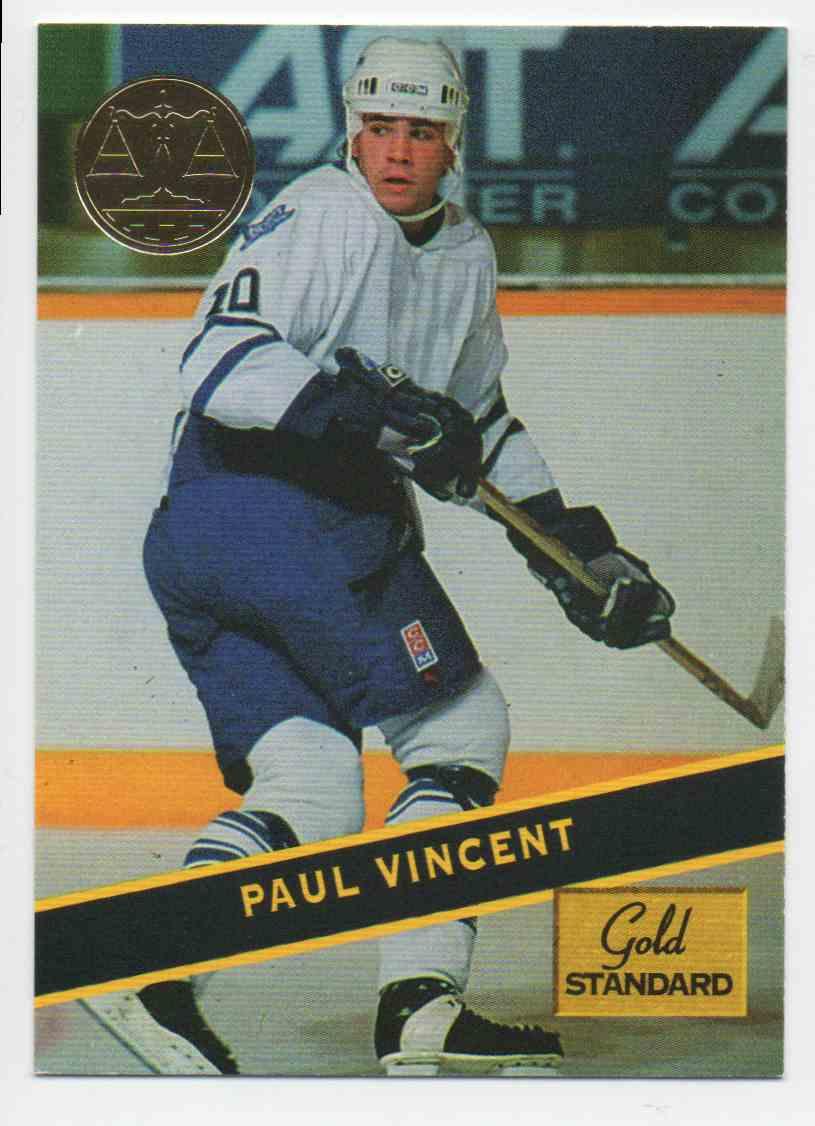 1994-95 Signature Rookies Gold Standard Paul Vincent #96 card front image