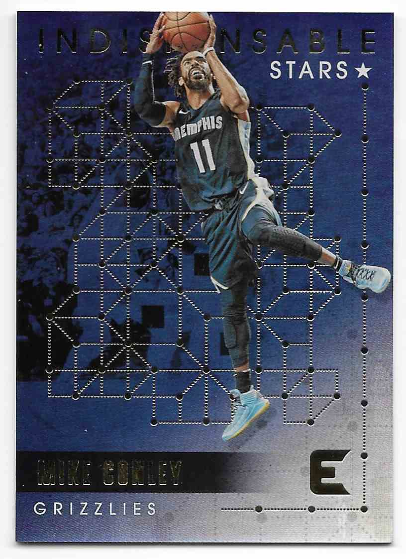 2017-18 Panini Essentials Indispensable Stars Mike Conley #IS-14 card front image