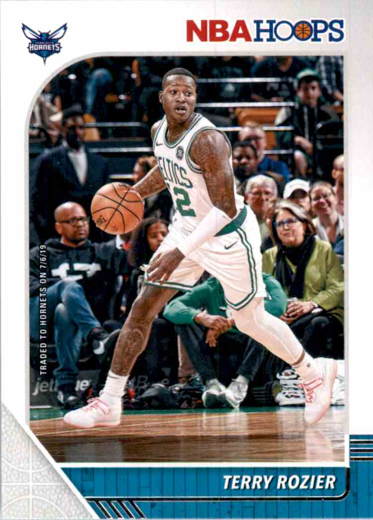 2019-20 Hoops Terry Rozier #10 card front image